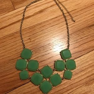 Sage green necklace